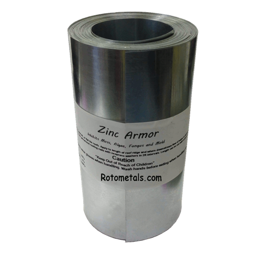 Zincarmor 6 Quot Zinc Strip 50 Ft Prevent Algae Moss Fungus