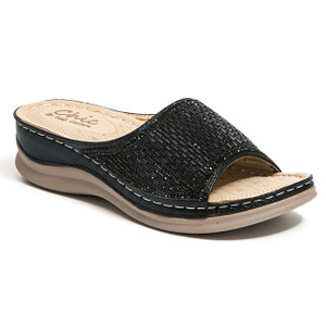 Chic by Lady Couture Fine Black Sandals