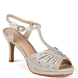 Lady Couture Midnight Champagne Heels