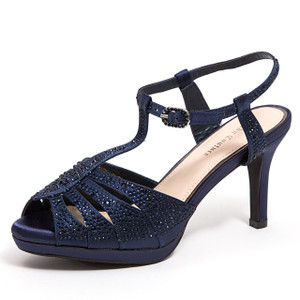 Lady Couture Midnight Navy Heels