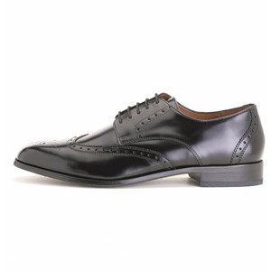 Florsheim Brookside Black Wing-Tip Oxford