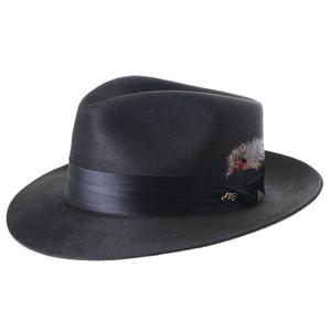 Dobbs Black Silk Finiah Hat