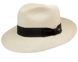 Stetson Panama Natural Center Dent Straw Hat