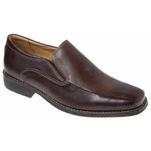 Sandro Moscoloni Jacobs Brown Leather Dress Loafers