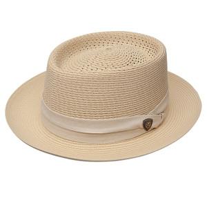 Dobbs Bishop Beige Straw Hat