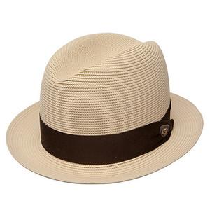 Dobbs Parker Beige Straw Hat