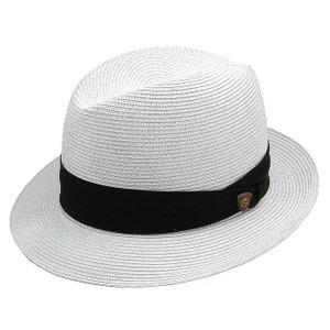 Dobbs Parker White Straw Hat