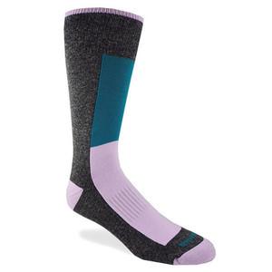 Remo Tulliani Anoki Gray Teal & Pink Dress Socks