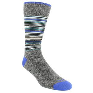 Remo Tulliani Apache Gray & Blue Dress Socks