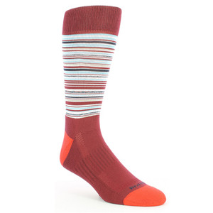 Remo Tulliani Apache Cardinal Red Dress Socks