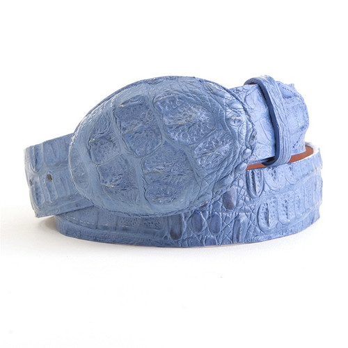 Los Altos Blue Jean Caiman Belt