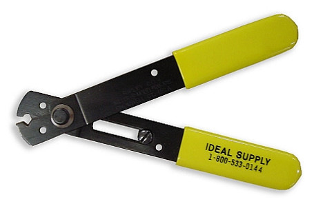 Ideal Wire Stripper   Heavy Duty Wire Stripper With Spring And Lock