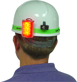 Lite Tracker Msha Hard Hat Band