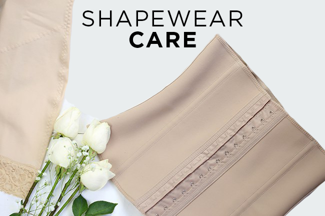 How to wash and store your shapewear and waist trainers