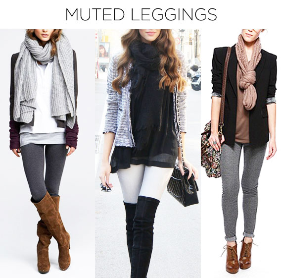 How to wear leggings in your fall wardrobe