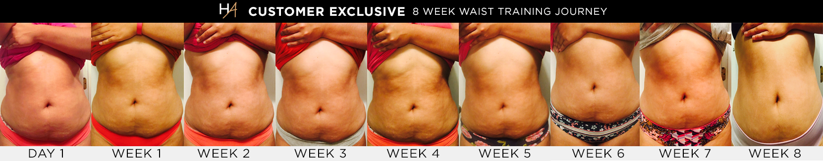 8-Week Waist Training Journey