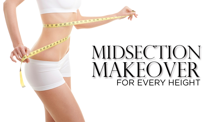 Midsection Shapewear for Long & Short Torsos
