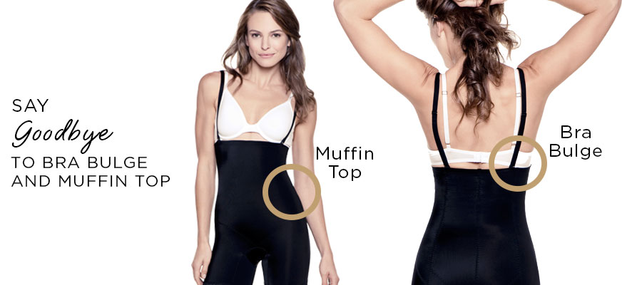 Shapewear with back coverage
