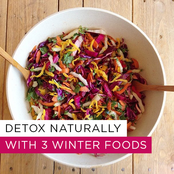 Detoxing winter foods