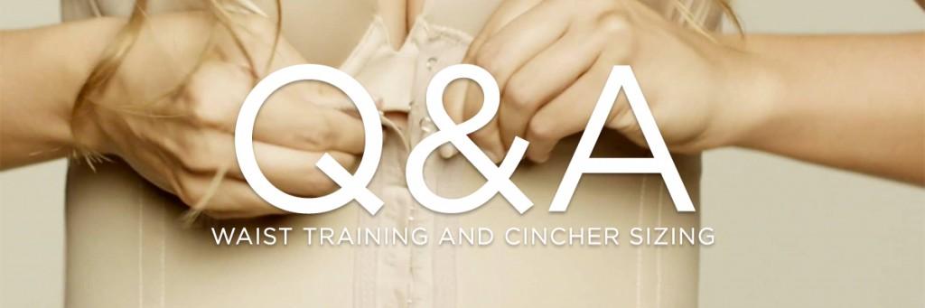 Waist cincher sizing Q&A
