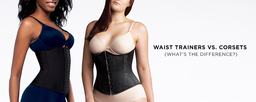 Difference between waist trainer and corset