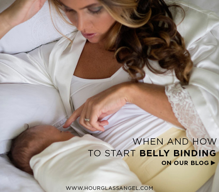 Postpartum belly binding for new moms