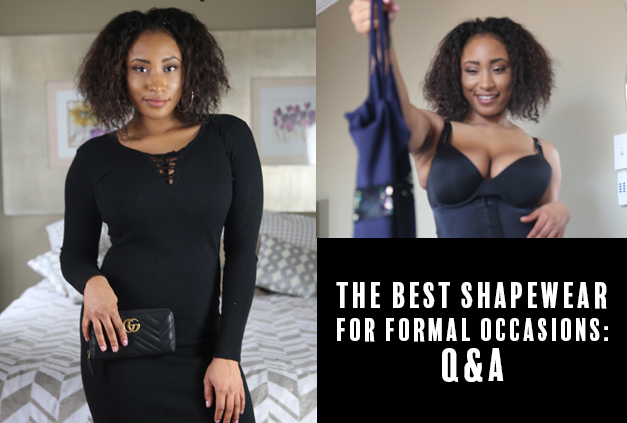 Formal gown shapewear pairings
