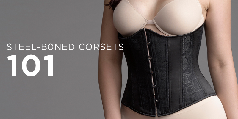 How to wear a steel-boned corset