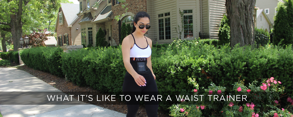 What it's like to wear a waist trainer