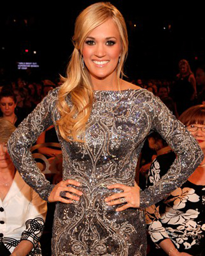 Carrie Underwood in Shapewear