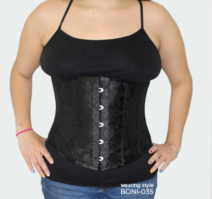 Corset shaping examples