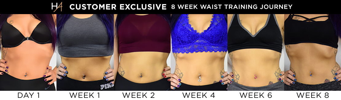 Waist Training Transformation with Gina