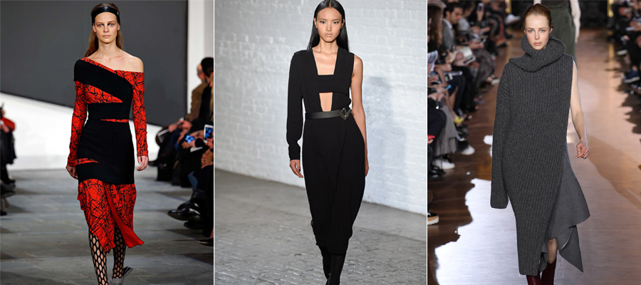 One Sleeve Fall 2015 Trend