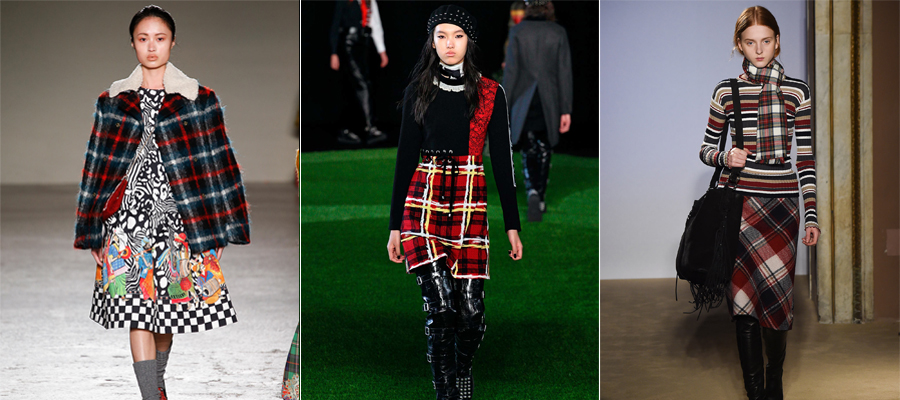 Fall 2015 Plaid Trend