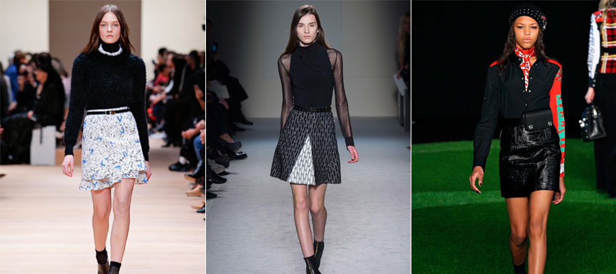 Short Skirts Fall 2015 Trend