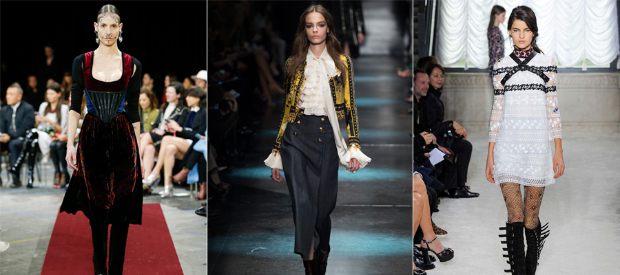 Fall 2015 Nouveau Victorian Trend