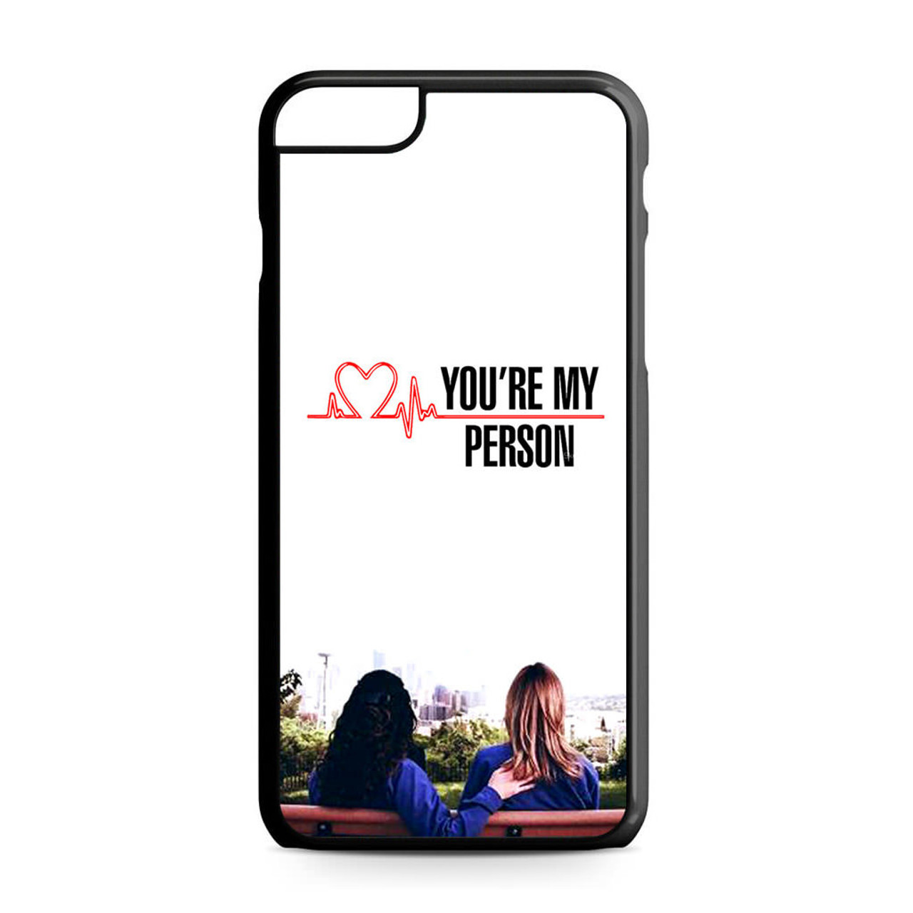 Grey\'s Anatomy You\'re My Person iPhone 6 Plus/6S Plus Case - CASESHUNTER