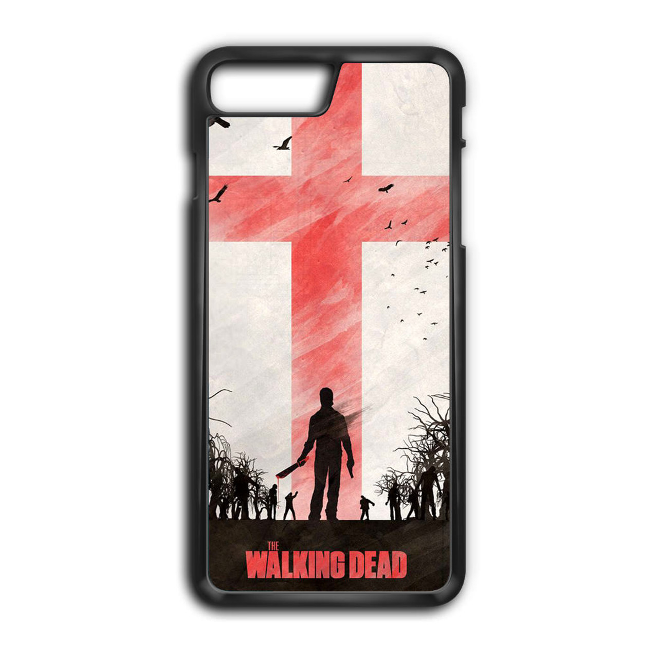 walking dead iphone 8 plus case