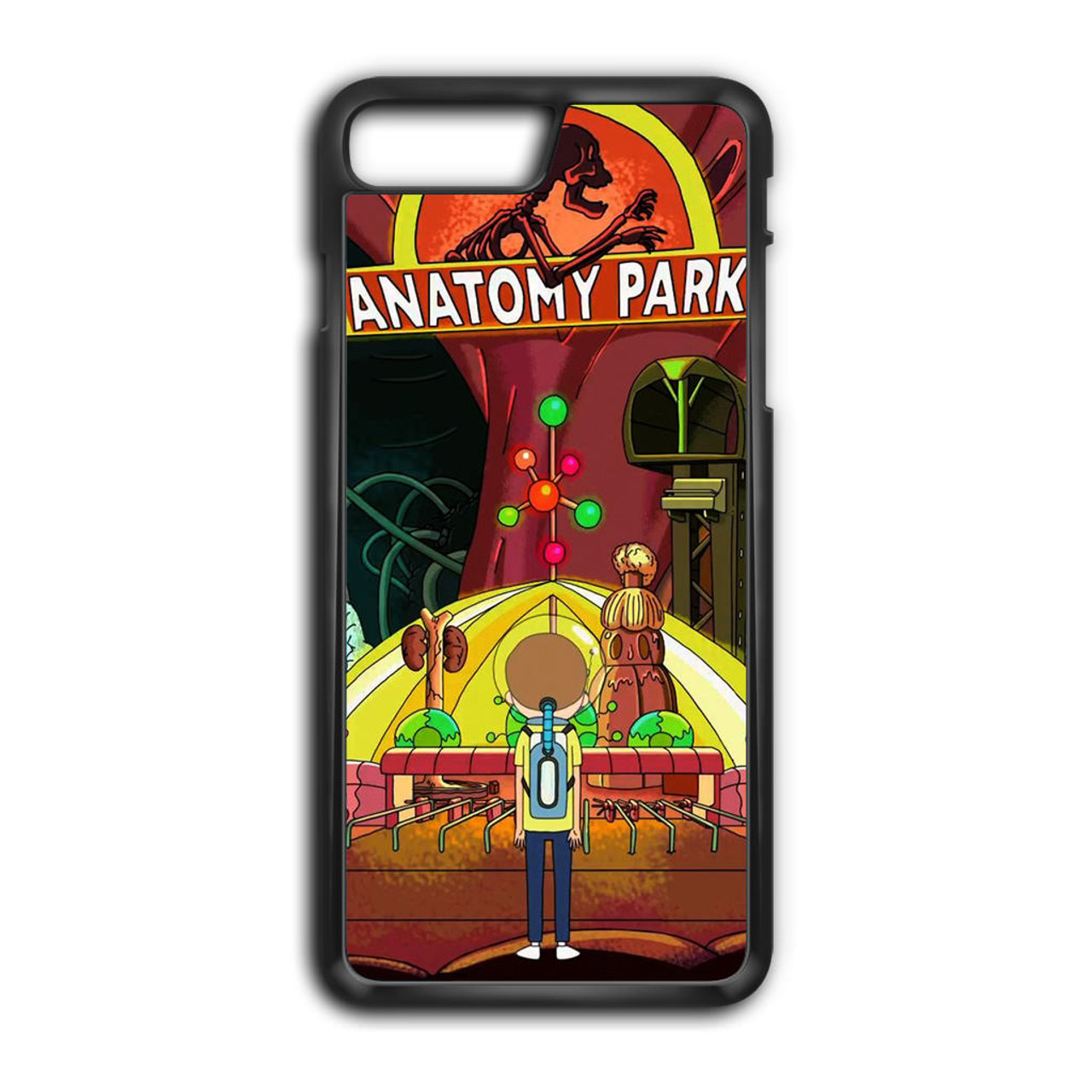Rick And Morty Anatomy Park iPhone 8 Plus Case - CASESHUNTER