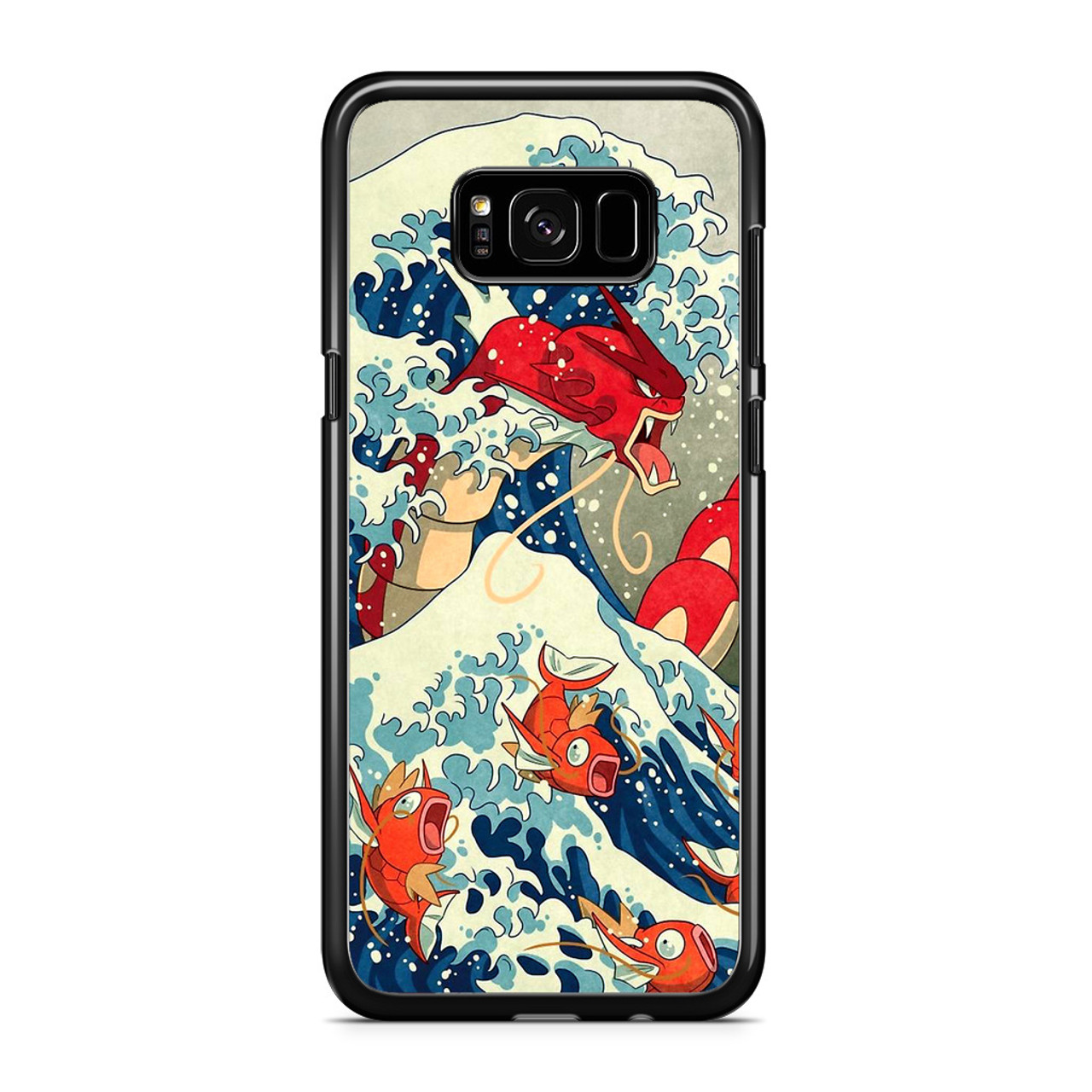 the great wave of kanto pokemon samsung galaxy s8 plus case