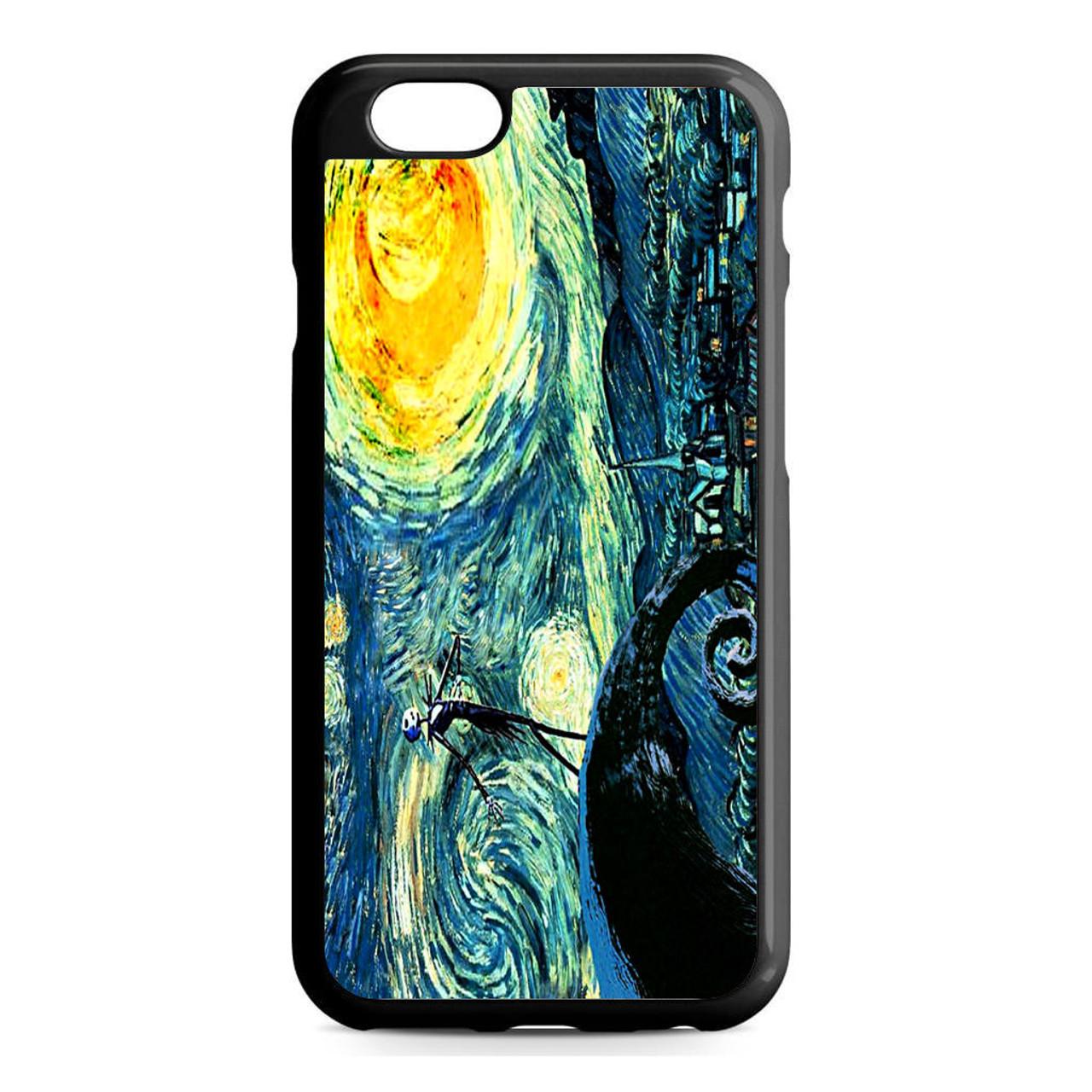 Starry Night Nightmare Before Christmas iPhone 6/6S Case - CASESHUNTER