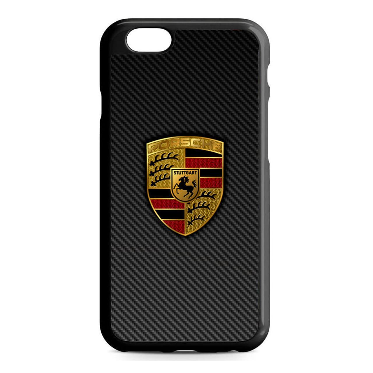 carbon porsche logo iphone 6 6s case caseshunter