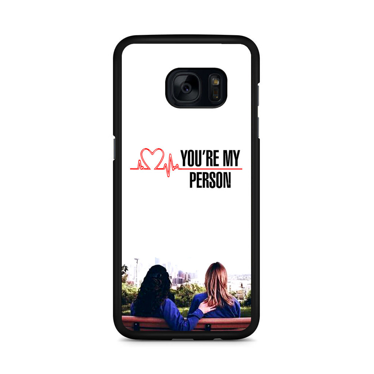 Grey\'s Anatomy You\'re My Person Samsung Galaxy S7 Edge Case ...