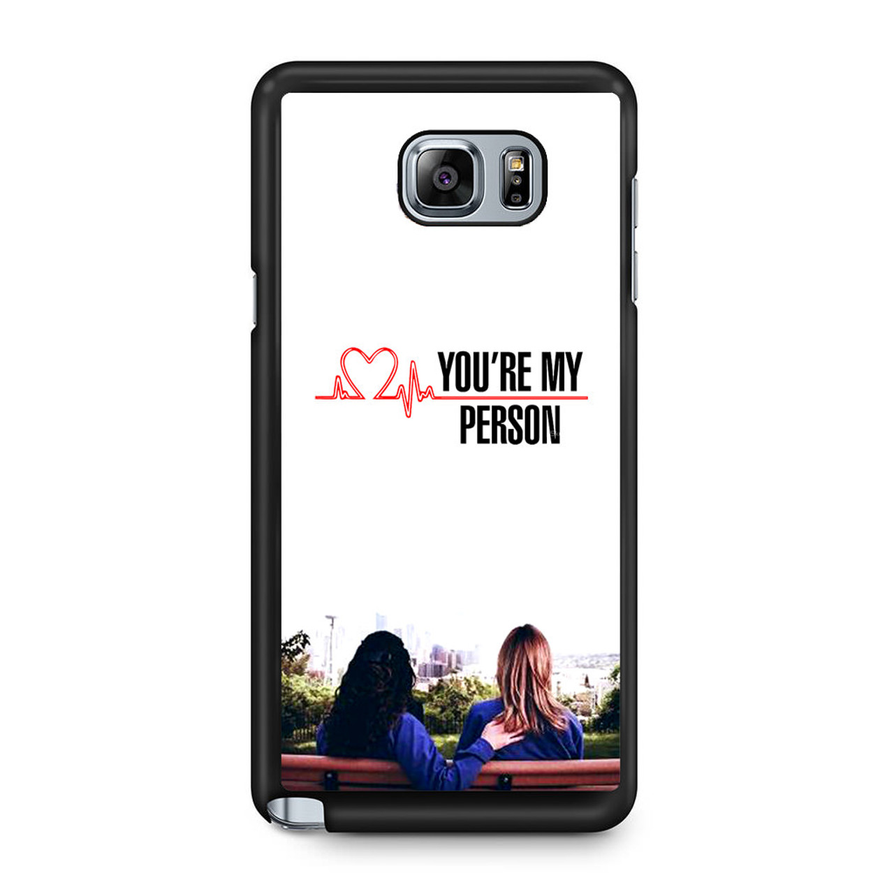 Grey\'s Anatomy You\'re My Person Samsung Galaxy Note 5 Case - CASESHUNTER