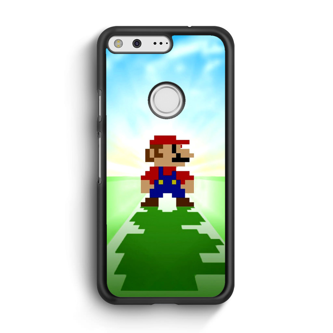 Super Mario Bros Minecraft Google Pixel Case