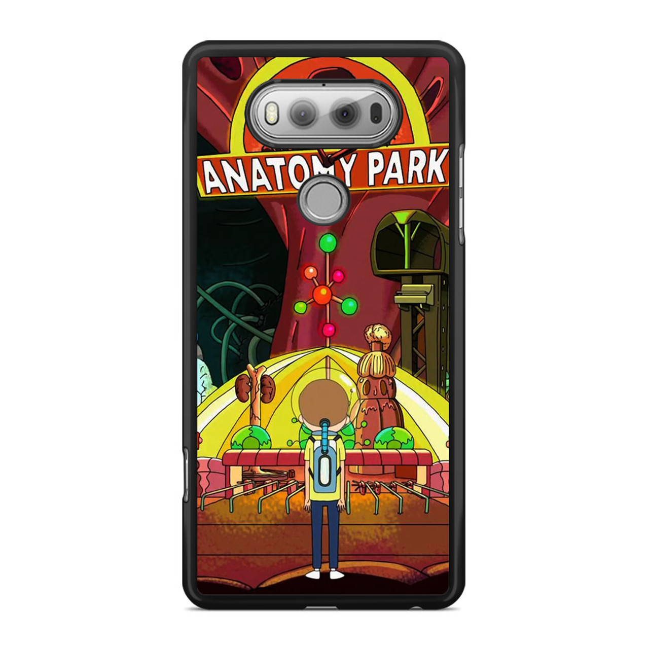 Rick And Morty Anatomy Park LG V20 Case - CASESHUNTER