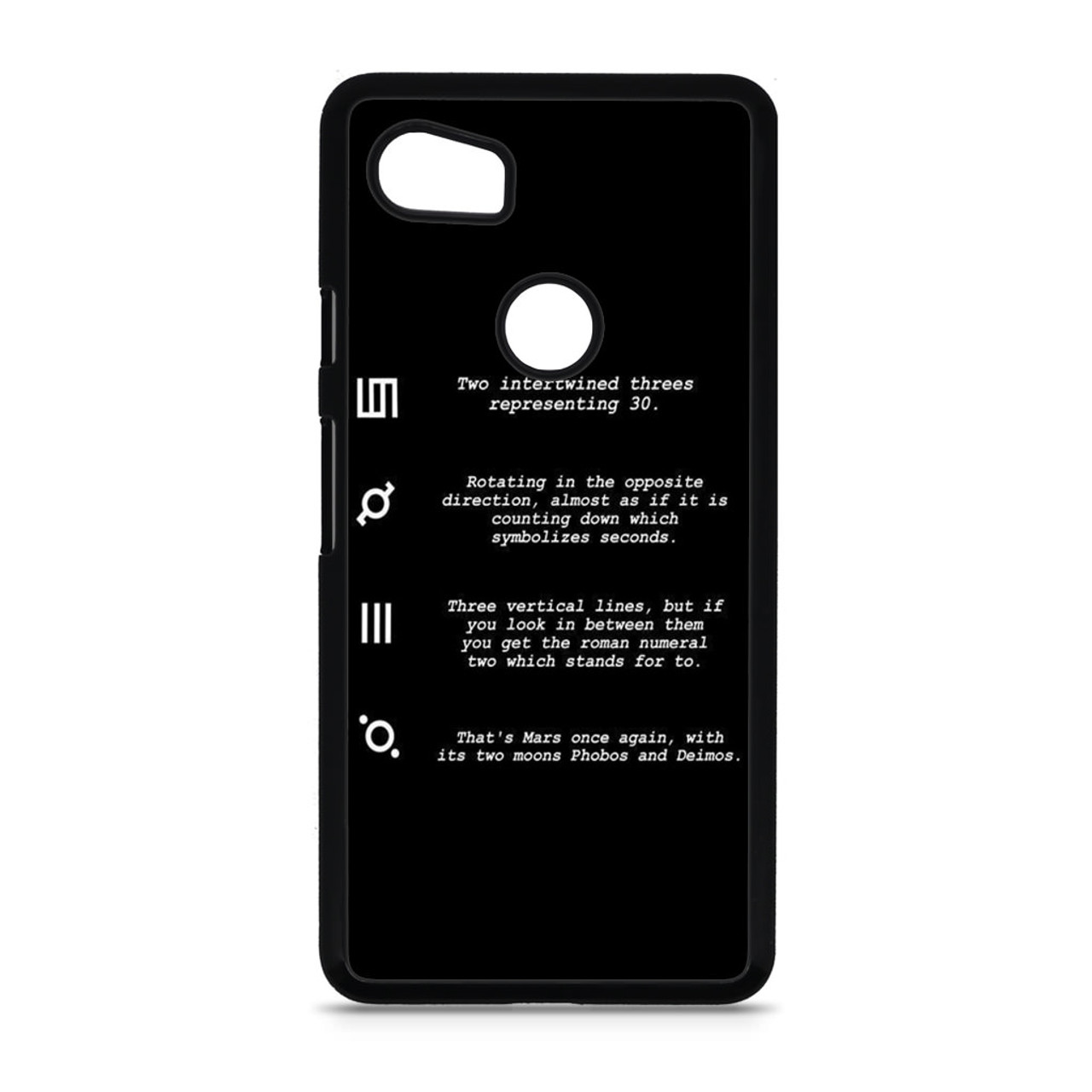 30 Second To Mars Symbol Definition Google Pixel 2 Xl Case Caseshunter