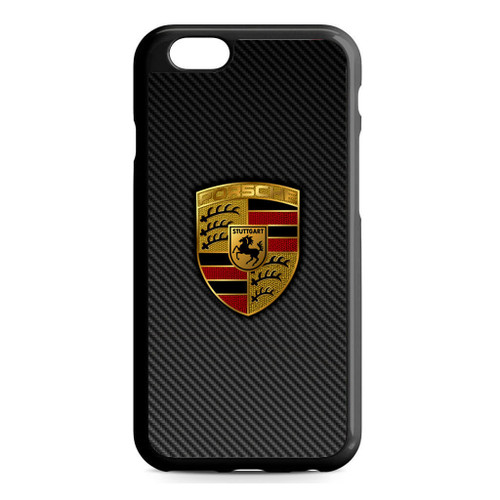Carbon Porsche Logo iPhone 6/6S Case