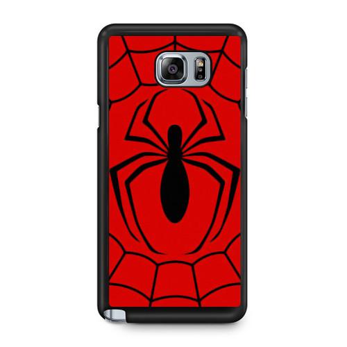 Spiderman Symbol Samsung Galaxy Note 5 Case Caseshunter