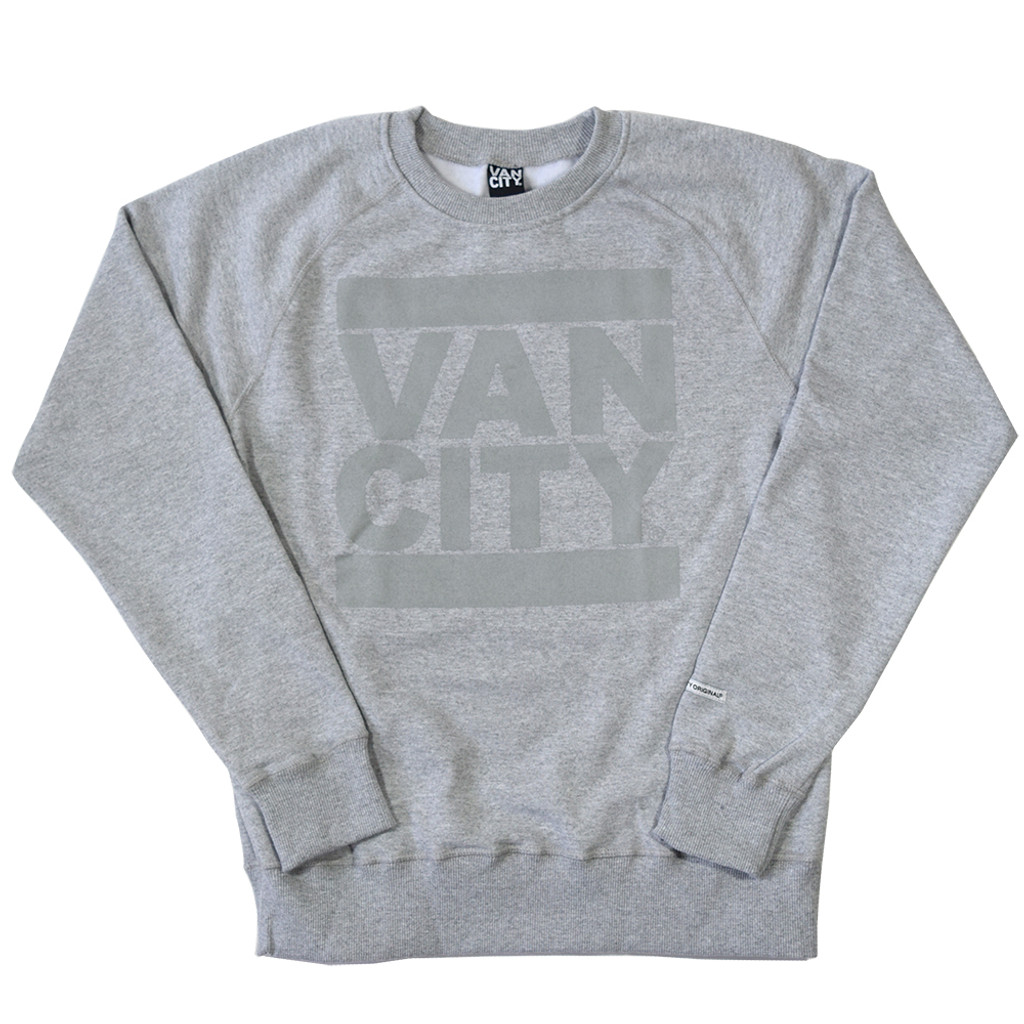Monchrome Neutrale Crew Sweatshirt - Athletic Grey